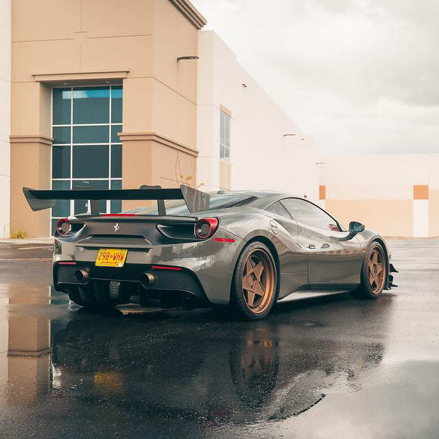 488 GTB finished with new front end @suntekfilms ppf and @ceramicprousa !